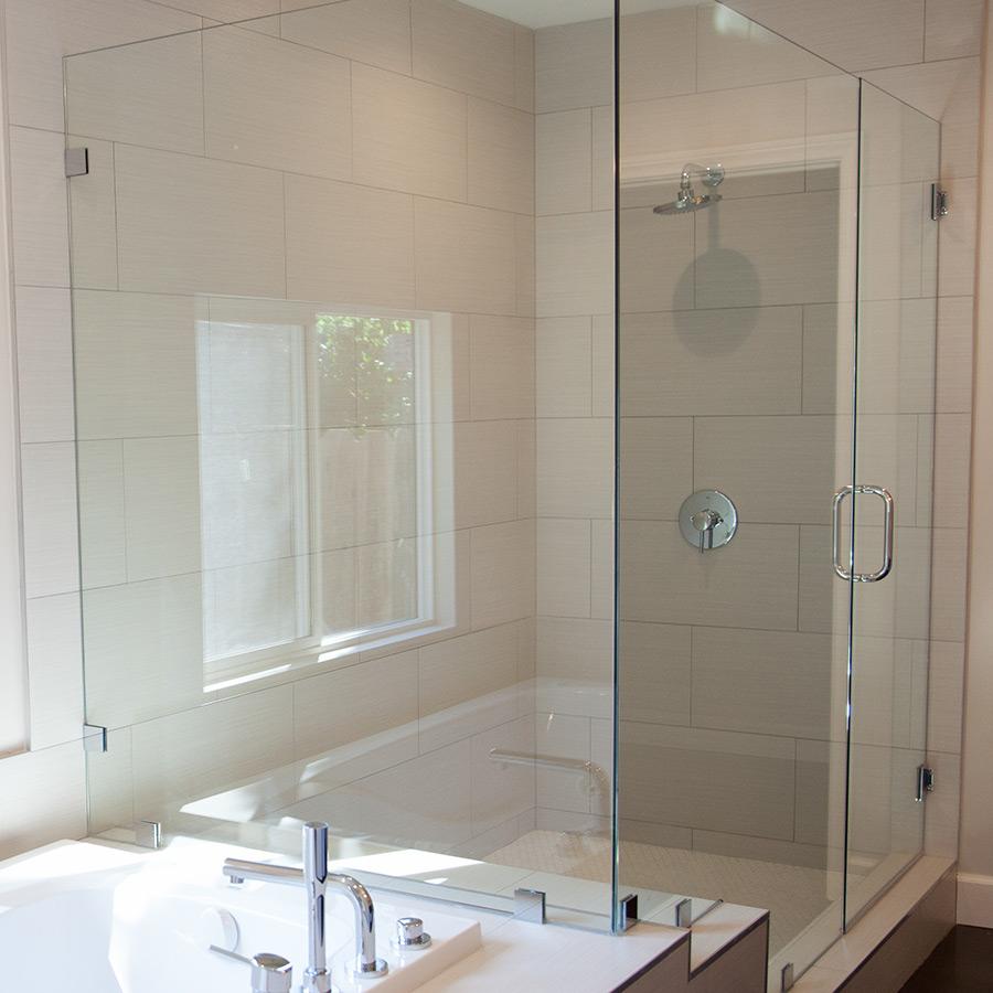 green bathroom remodel encino overland remodeling