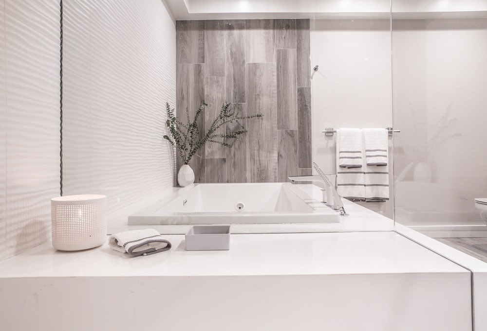 tile, bathtub